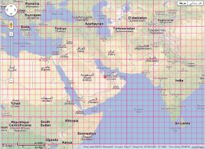 Posmap world map with latitude longitude arabic map with latitude longitude gumiabroncs Gallery