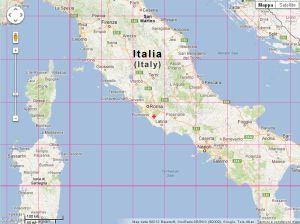 PosMap World Map With Latitude Longitude - World map longitude